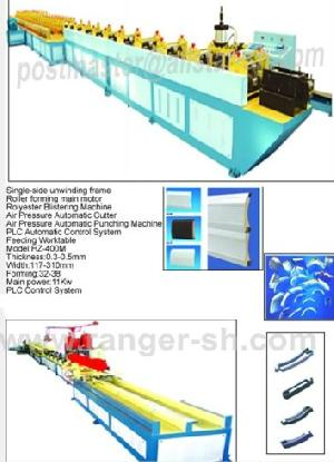 rolling shutter roll forming machine roller