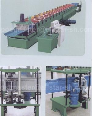 standing seam roll forming machine joint hidden