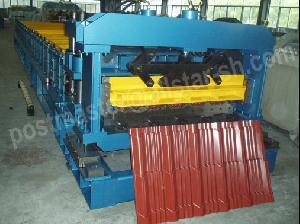 step tile roll forming machine glazed