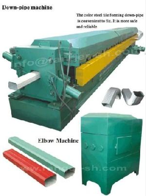 water downspout roll forming machine rainspout