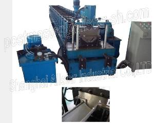 water gutter roll forming machine round