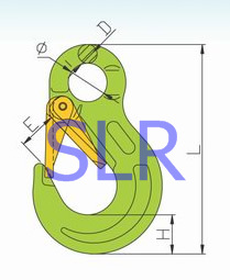 g100 rigging g80 connecting link safety hook clevis swivel