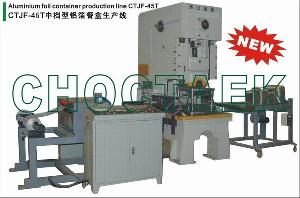 aluminum foil container machine ctjf 45t