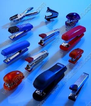 distributors office supplies metal plastic stapler clips