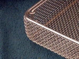 surgical instruments mesh basket
