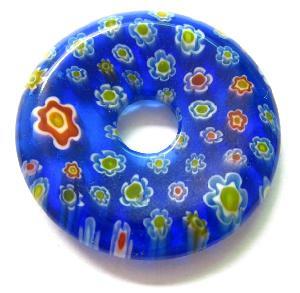millefiori glass pendant wholesale round