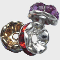 rondell rhinestone beads