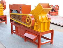 diesel engine hammer crusher middle fine crushing