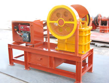 diesel jaw engine crusher places electricity