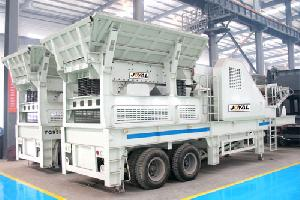 portable jaw crushing plant mining traffic water conservancy facilities