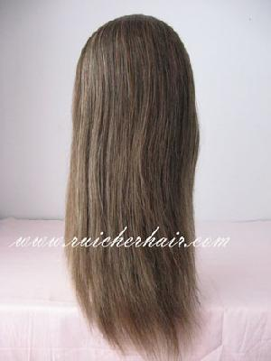 wefts lace wigs