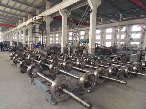 pre stressed concrete spun pile spinning machine