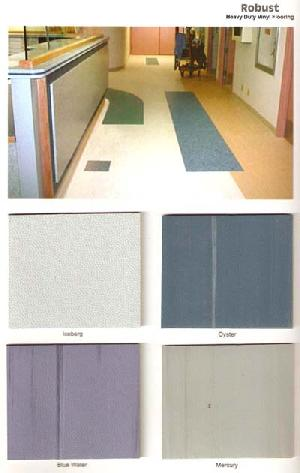 robust heavy duty vinyl flooring