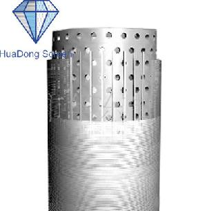 multilayer screen pipe v wire wrap water filter oil welding