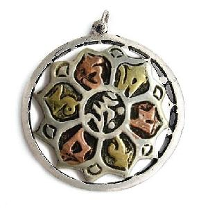 tibetan amulet pendant