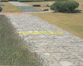 irregural meshed paving slates slateofchina