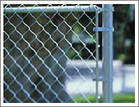 48mm dipped galvanized post chain link mesh fence