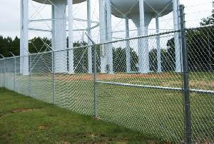 Chain Link Barbed Wire Fencing