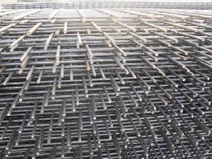 welded wire mesh sheet concrete reinforcement reinforcing