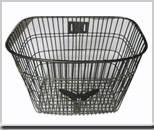 wire basket electrical bicycle