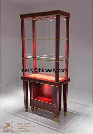 jewelry cabinets showcases