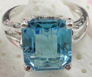 factory sterling silver blue topaz ring citrine pendant smoky quartz earring