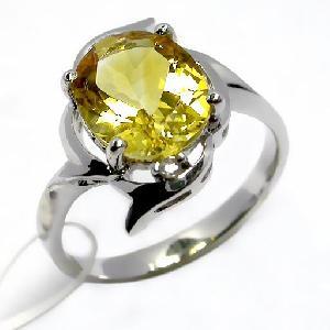 factory sterling silver citrine ring fashion cz jewelry smoky quartz pendant bracelet