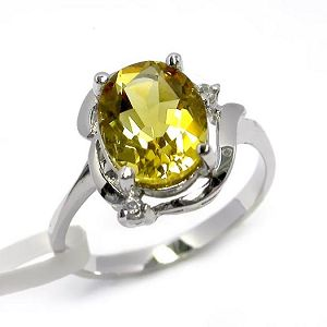 manufactory sterling silver citrine ring moonstone pendant gemstone jewelry earring