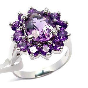 sterling silver amethyst ring citrine bracelet gemstone jewelry moonstone earring