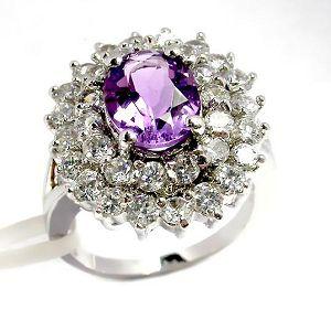 sterling silver amethyst ring fashion cz jewlery citrine bracelet earring pendant