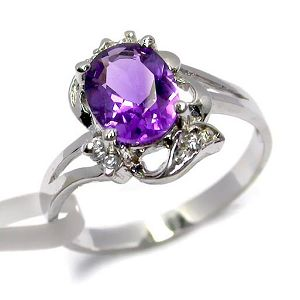 sterling silver amethyst ring fashion cz pendant gemstone jewelry earrin