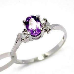 sterling silver amethyst ring smoky quartz pendant garnet bracelet necklace