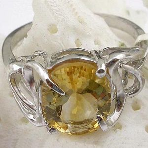 sterling silver citrine ring olivine amethyst earring rainbow stone pendant