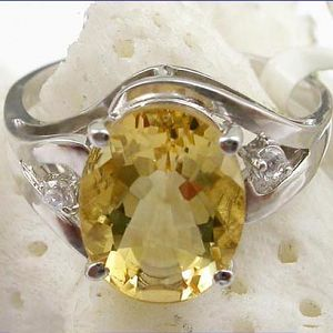 sterling silver citrine ring prehnite pendant jewelry garnet bracelet earrin