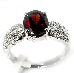 sterling silver garnet ring blue topaz earring prehnite pendant jewelry