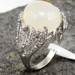 sterling silver moonstone ring olivine pendant gemstone jewelry tourmaline