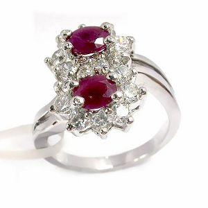 sterling silver ruby ring amethyst prehnite pendant garnet bracelet earring
