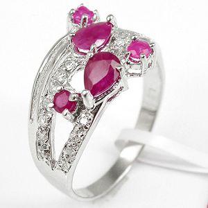 sterling silver ruby ring olivine prehnite earring pendant gemstone jew