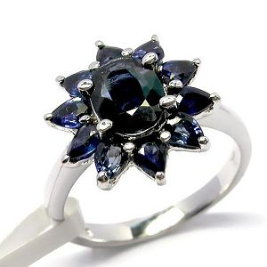 sterling silver sapphire ring citrine bracelet ruby amethyst pendant chalcedony ri