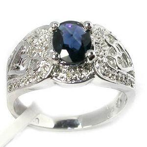 sterling silver sapphire ring smoky quartz pendant garnet moonstone earring