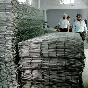 concrete reinforcing welded iron mesh panels