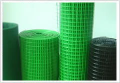 pvc coated welded mesh opening 1 x1