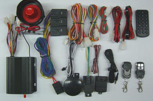 gps gsm car alarm system vehicle