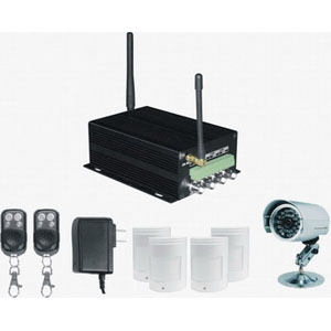gsm mms camera alarm system