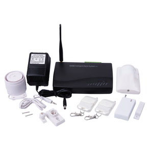 gsm home alarm works