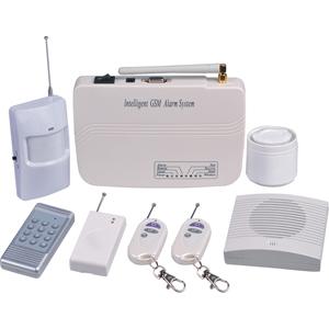 Seguridad inalmbrica en casa del sistema de alarmas - Sistemas de seguridad para casas ...