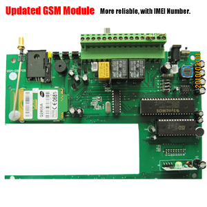 sms messages gsm alarm system