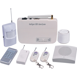 wireless security intrusion alarm system gsm cellular network