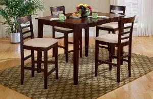 bar table chair teak mahogany indoor furniture