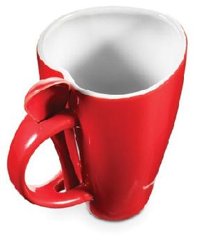 heart shape mug spoon